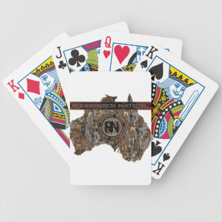 AUSTALIA  Rig Up Camo Bicycle Playing Cards