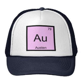 Austen Name Chemistry Element Periodic Table Trucker Hat