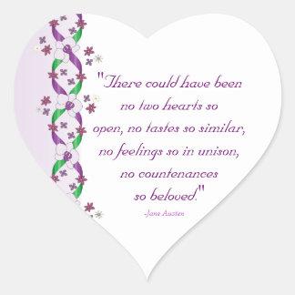 Austen Quote Stickers