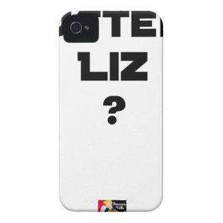AUSTERE LIZ - Word games - François City Case-Mate iPhone 4 Cases