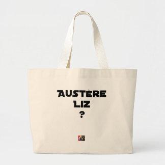 AUSTERE LIZ - Word games - François City Large Tote Bag