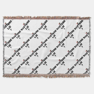 AUSTERE LIZ - Word games - François City Throw Blanket