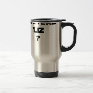 AUSTERE LIZ - Word games - François City Travel Mug