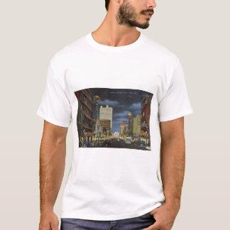 Austin Avenue, Waco, Texas - 1940's T-Shirt