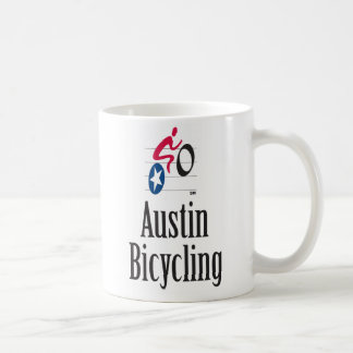 Austin Bicycling Mug