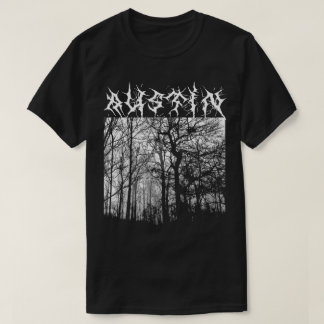 Austin Black Metal T-shirt Grimm Woods