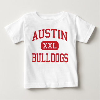 Austin - Bulldogs - High School - Sugar Land Texas Baby T-Shirt