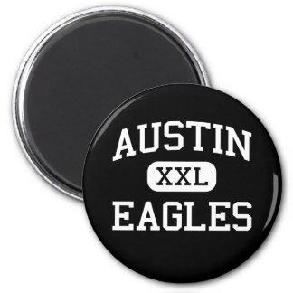 Austin - Eagles - High School - Austin Indiana Refrigerator Magnets