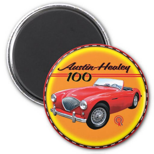 Austin Healey 100- six Fridge Magnets