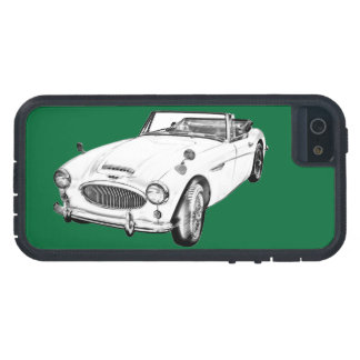 Austin Healey 300 Sports Car Illustration iPhone 5 Cases
