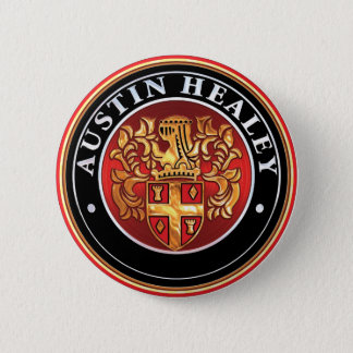 Austin Healey badge 2 Inch Round Button