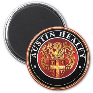 austin Healey Badge 2 Inch Round Magnet