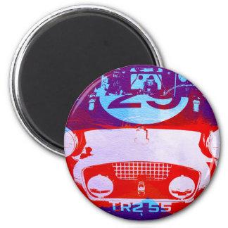 Austin Healey Frogeye Sprite 2 Inch Round Magnet