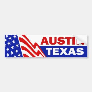 Austin, le Texas Autocollant De Voiture