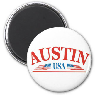 Austin Refrigerator Magnet
