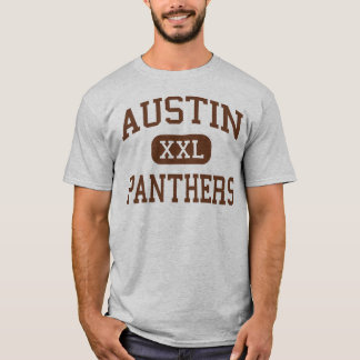 Austin - Panthers - High School - El Paso Texas T-Shirt