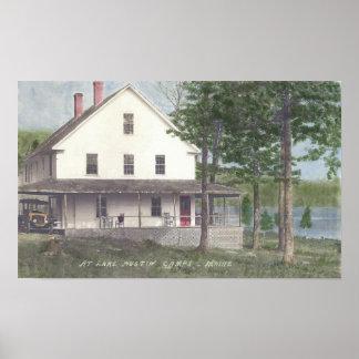 Austin Pond Lodge Poster