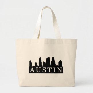 Austin Skyline Large Tote Bag