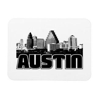 Austin Skyline Vinyl Magnet