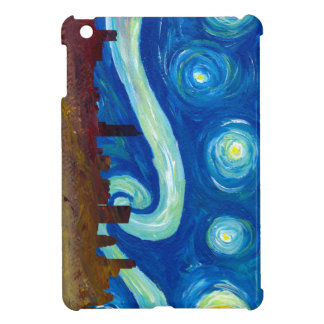 Austin Skyline Silhouette with Starry Night Cover For The iPad Mini