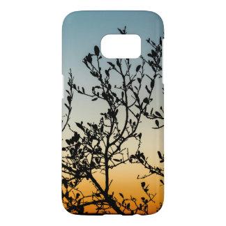 Austin Sunset in Winter Samsung Galaxy S7 Case