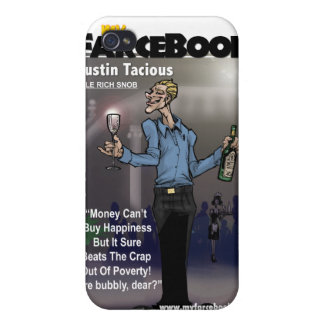Austin Tacious- myFarcebook.com Billionaire Snob Covers For iPhone 4