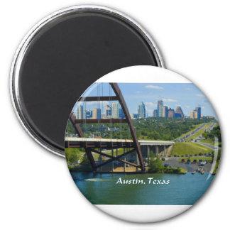 Austin, Texas 2 Inch Round Magnet