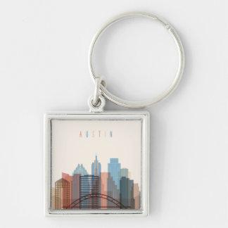 Austin, Texas   City Skyline Keychain