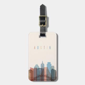 Austin, Texas | City Skyline Luggage Tag