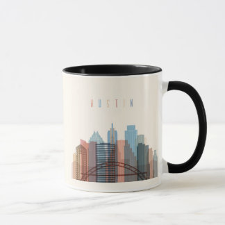 Austin, Texas | City Skyline Mug