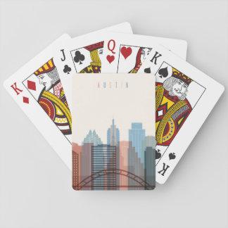 Austin, Texas | City Skyline Playing Cards