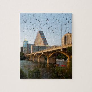 Austin, Texas Congress Bridge Bats Jigsaw Puzzle