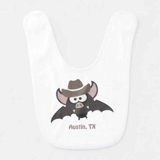 Austin Texas Cowboy Bat Bib