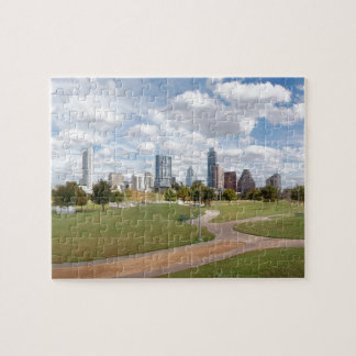 Austin, Texas Downtown Skyline from Butler Park Puzzle