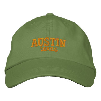 Austin Texas Embroidered Embroidered Hat