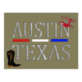 Austin Texas - postcard