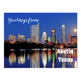 Austin Texas --- Postcard