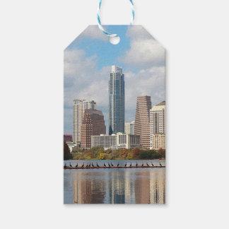 Austin Texas Skyline Gift Tags