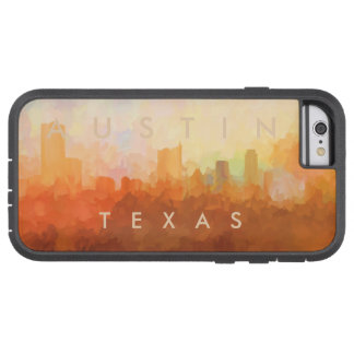 AUSTIN, TEXAS SKYLINE-In the Clouds-Phone cases