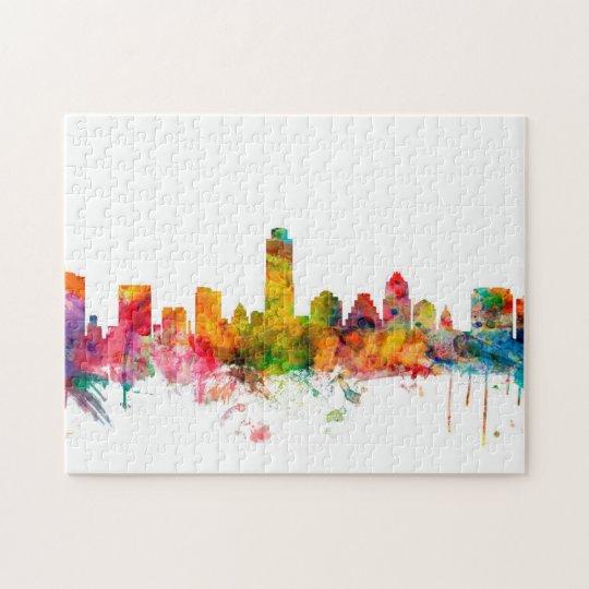 Austin Texas Skyline Jigsaw Puzzle