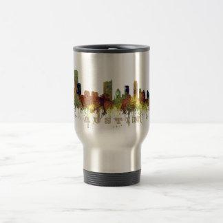 Austin, Texas Skyline - Safari Buff Travel Mug