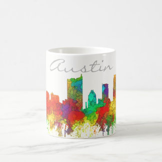 Austin Texas Skyline-SG Coffee Mug
