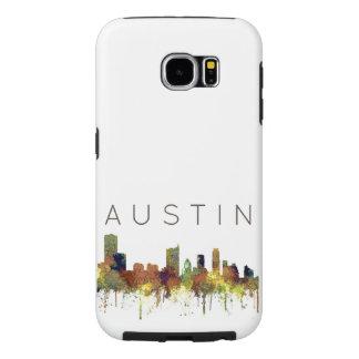 Austin Texas Skyline SG-Safari Buff Samsung Galaxy S6 Cases