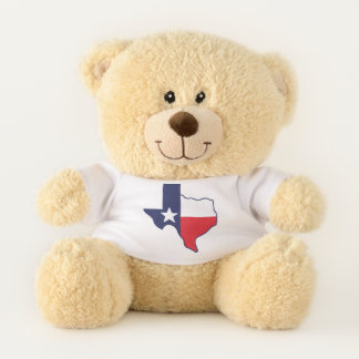 Austin Texas Snuggle Teddy Bear