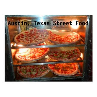 Austin Texas Street Food Postcard