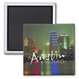 Austin Texas Travel Souvenir Fridge Magnets