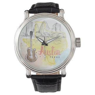 Austin,Texas | Watercolor Sketch Watch