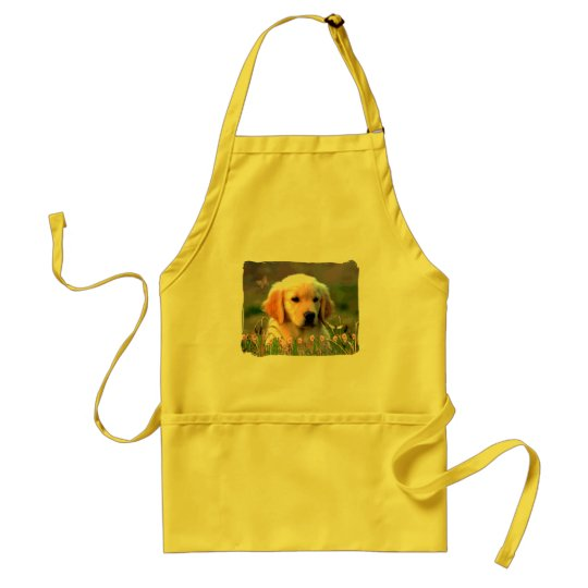 Austin The Golden Labrador Standard Apron