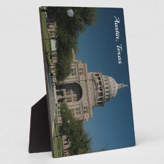 Austin, TX Capitol Building Plaque