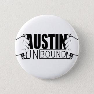 Austin Unbound Logo 2 Inch Round Button